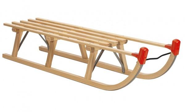Rodelberg® Davos-Schlitten Holz 125 cm