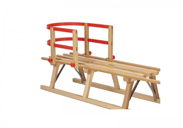 Sicherheits-Lehne für Rodelberg® Holzschlitten